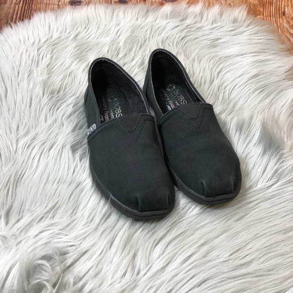 Skechers Black Slip On Size 7.5 Women's Shoes
